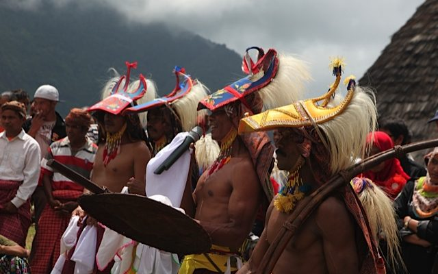 Wae Rebo Penti, Harvest Festival in Flores by Bernie Geddes