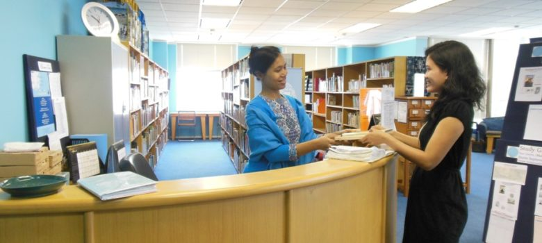IHS Library Front Desk