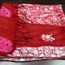 Red Batik Scarf