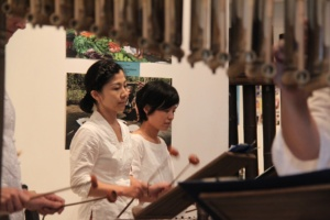 Japanese Section Angklung Performance