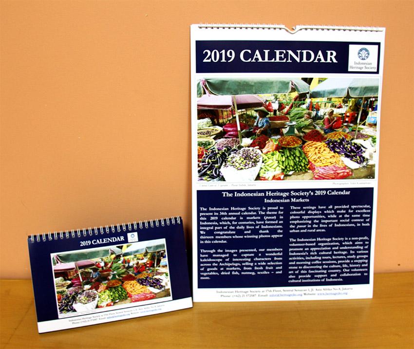 IHS New 2019 Calendars