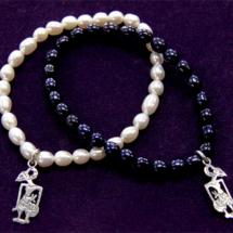 IHS pearl bracelets