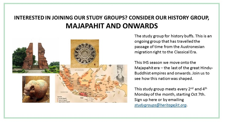 IHS Study Group Majapahit and Onwards