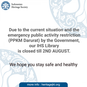 IHS closed 2nd august